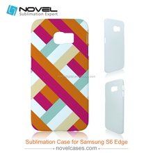 New Printable 3D Blank Mobile Phone Case for Samsung Galaxy S6 Edge G9250, 3D Sublimation Blanks