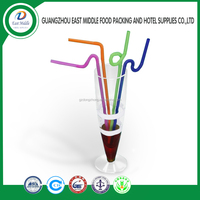 wholesale acrylic tumblers with straws colored art drinking straws