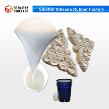 25 Shore A RTV Liquid Mould Silicone Rubber for Plaster Cornice