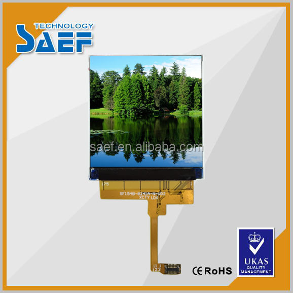 mipi dsi interface lcd display ST7789V ic and 12 pins 320*320 display lcd without touch panel