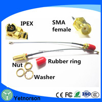1.13 RF Coaxial cable Pigtail IPX-SMA Rf Jumper cable