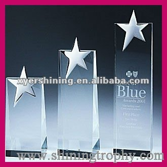 Personalized Crystal Plaque Award