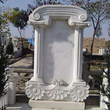 White granite stone for headstone/tombstone