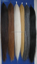 White Brown Black Color Horse Hair for brush tail extensions