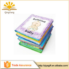 Custom design baby toy soft PVC waterproof bubble baby bath book
