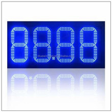 gas station led price sign full colour outdoor display led petrol price sign board