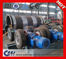 Tire transimission ball mill/ belt drive ball mill machine for copper ore