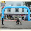 12x6m Blue inflatable advertising arch for outdoor activities, cheap inflatable arch for hot selling