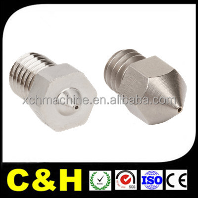 Customized CNC Machining Precision 3D Printer Extruder Nozzle