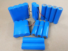 Cylindrical 18650 3.7v 1300mah lithium polymer rechargeable battery
