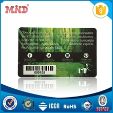 MDC1332 Competitive price Blank Programmable Contactless RFID NFC smart card