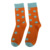 Wholesale custom dot crew seamless bamboo socks for men