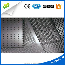 Decorative perforated sheet metal, galvanized micro perforated round metal sheet