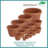 Plastic flower pot hot sale Plastic garden pot KD2000 Series