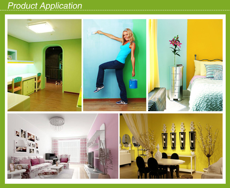 Asian Famous Supplier Provide Waterproof High performance Interior paint