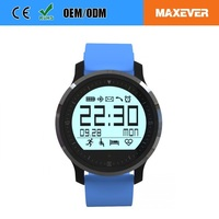 "High Quality 1 ""128 * 128 Pixels Smart Watch Heart Rate Monitor"