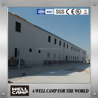 Qatar labor camp prefab house prefabricated home modular building for hotel project