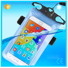high quality big cell mobile pvc waterproof phone bag