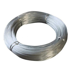 Shiny surface good corrosion prevention electro galvanized iron wire