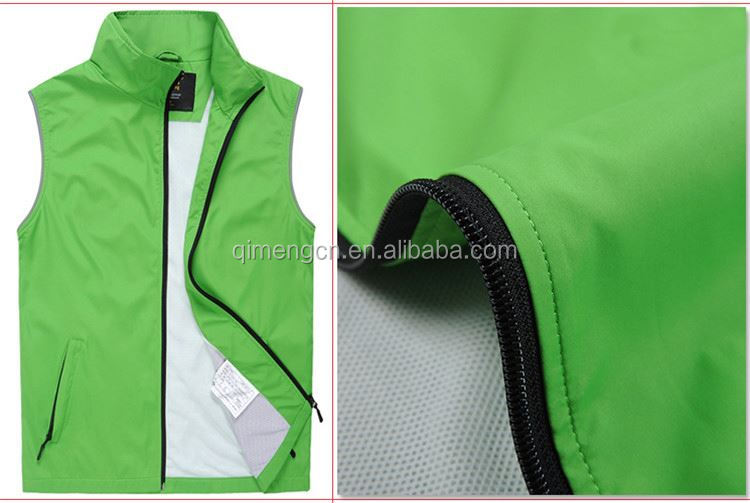 Factory Sale different types polyester waistcoat wholesale