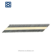 furniture hardware 21-degree plastic collated strip nails
