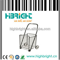 metal net foldable trolley