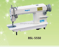 Single needle high speed lockstitch industrial sewing machine