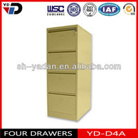 Global Cheapest Home Office Furniture four Drawer /Vertical Steel Filing Cabinets in Netherlands market