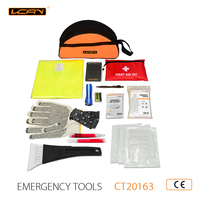 40PCS Emergency Winter Safety Kit and Roadside Emergency Kit and auto emergency kit