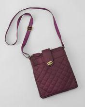quilted nylon women cross-body bags