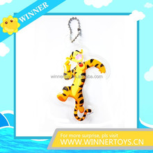 Cheap customized animal keychain/mobile phone chain