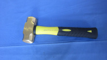 explosion-proof brass copper sledge hammer with TPR handle