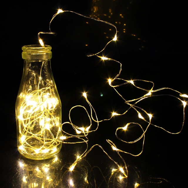 1m//2m//3m//5m LED String Lights For Party Wedding Decoration ChristmasWR