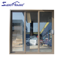 Aluminium track 3 panel sliding closet doors lowes with Dade testing