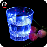 Led Cheap Flashing plastic broken colored glass bulk promotional gift for kids