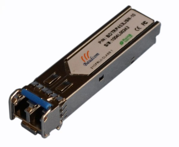 1.25G 1000Base-SX SFP fiber optic transceiver with LC Connector