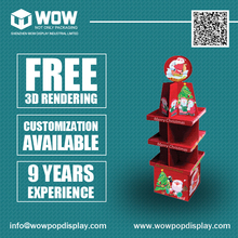 Custom Cheap Cardboard Standups for Christmas Promotion, Point of Sale Units