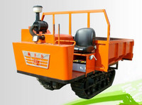 XTL 51Hp self-discharging crawler carrier crawler-type carrier vehicle