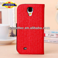 Korea Style Design PU Leather Wallet Flip Case Cover For Samsung Galaxy S4 i9500