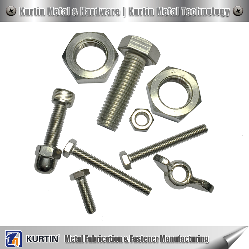 stainless steel bulk nuts and bolts with ISO certificate