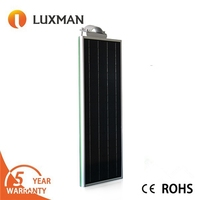 20W Intergrate solar light ip67 waterproof all in one solar led street light