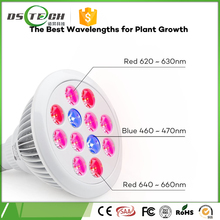 Free sample 24v 5630 30 leds agriculture led grow lights , 12w E27 LED Grow Light for Garden Greenhouse