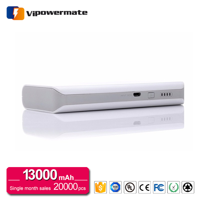 Dual USB Recharge Rohs 3C FCC 50000mAh Portable Power Bank For Philips