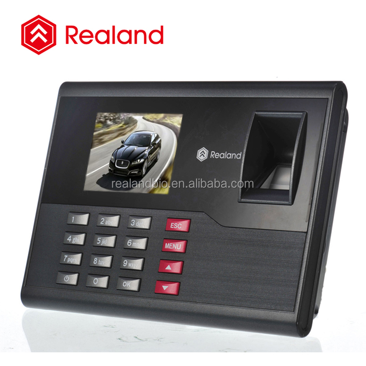 Biometric Fingerprint Terminal Time Attendance In Time Out Finger Print Attendance with simple access control