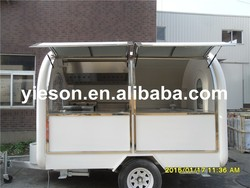concession trailer, mobile fast food car, mobile houses fast food truck for sale YS-FB200B