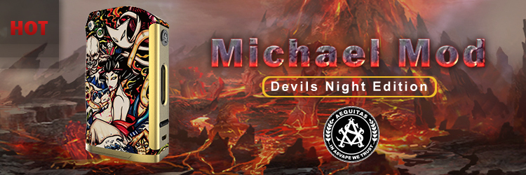 Asvape Hot Products Michael Mod 200W Devils Night Edition