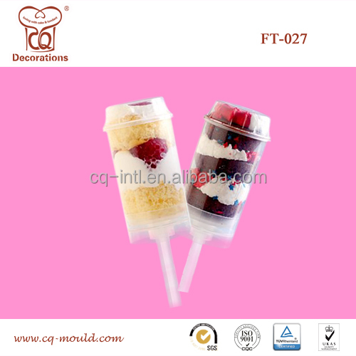 Food Contact Safe Cake push up pops Mold