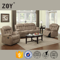 Turkish furniture sofa set designs and prices fabric recliner sofa Zoy 9835A