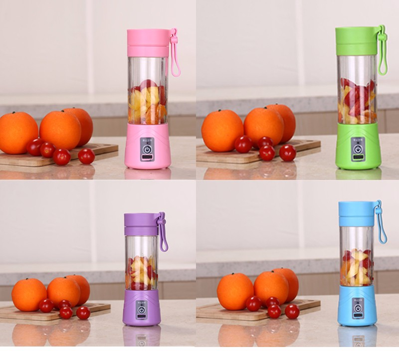 OEM available USB rechargeable portable juice blender mini electric juicer mixer
