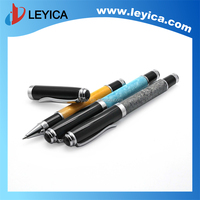 Metal pmma ballpoint pen with clip,advertising pens for promotion LY121